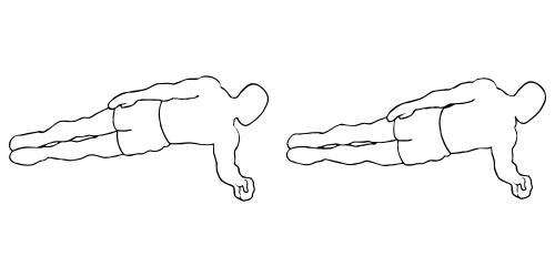 Plank Jacks / Extended Leg